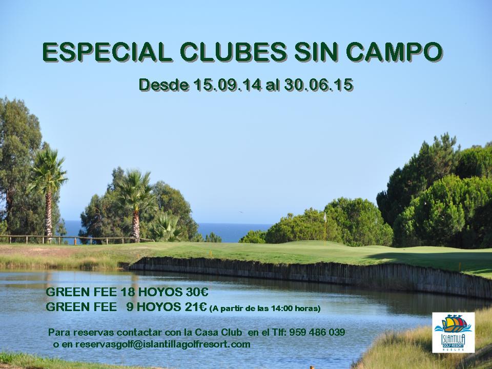 CLUB SIN CAMPO 14-15