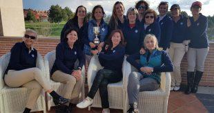 El equipo del Foro 2000 de la Ryder Damas grandes vencedoras en Layos