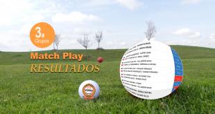 Resultados y Clasificación Match Play 3ª ronda – El Fresnillo