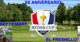 Enfrentamientos parejas Ryder XX Aniversario (Incluye salidas y golpes)